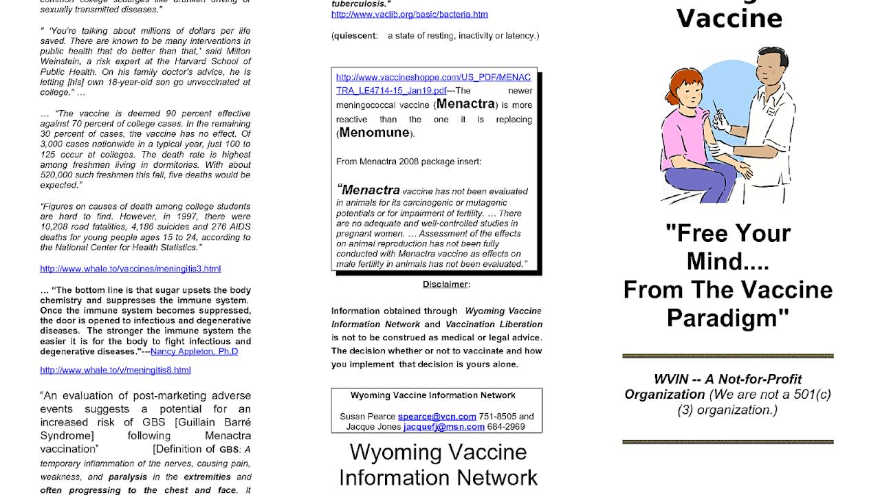 Meningitis Vaccine Side Effects - Effect Choices