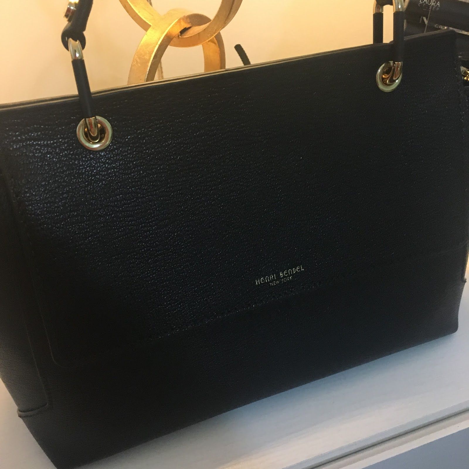 The Stanton Top Handle Tote was on sale and I got it for a ridiculous  price, and I decided to purchase it in black because believe it or not, I  didn t have ... 441594ad67
