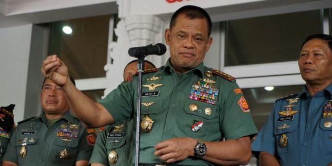 Wiranto Bantah Ada 5000 Senjata Ilegal, Ini Tanggapan Panglima TNI
