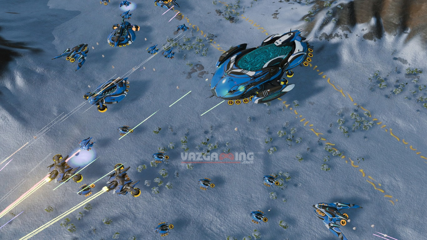 Ashes of the Singularity Gameplay vazgaming 2