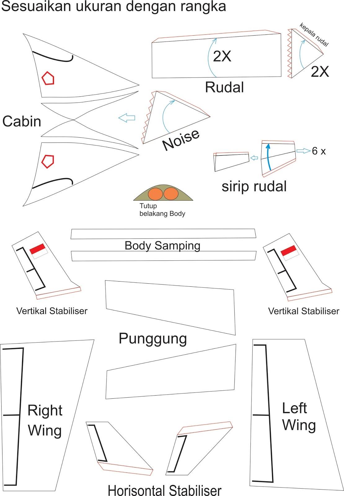 Cara Membuat Pesawat Kertas Yang Bisa Terbang Super Jauh: Cara Membuat Sepeda Hias Pesawat: Membuat Sepeda Hias
