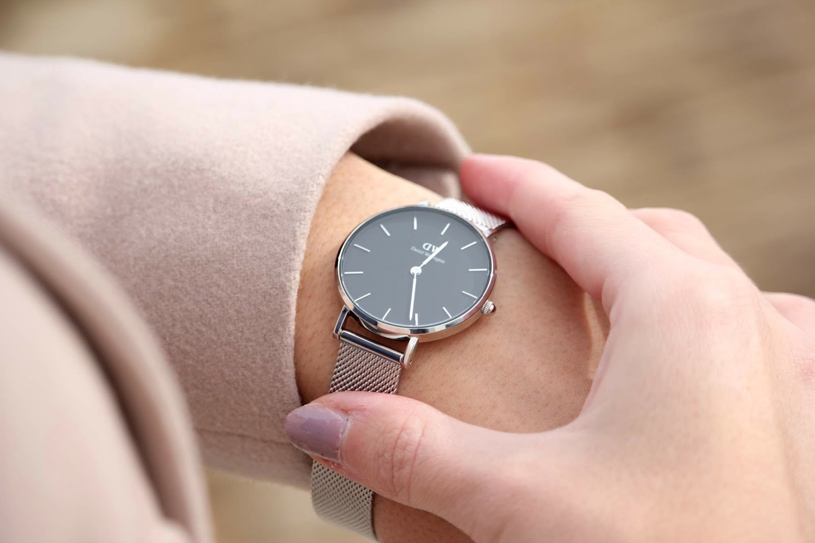 my new daniel wellington classic petite watch. Black Bedroom Furniture Sets. Home Design Ideas