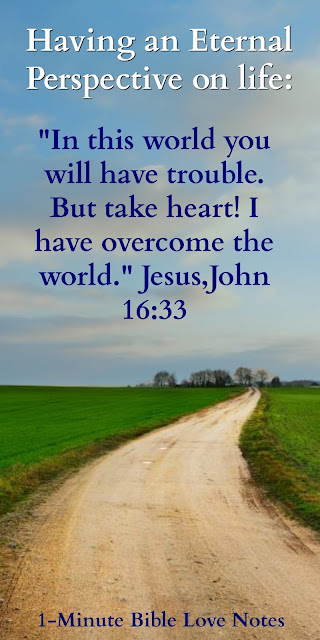Living for Heaven, We will have troubles on earth