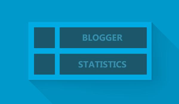 Customize Blogger Statistics Widget
