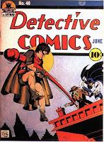 Detective Comics #40 comic cover image