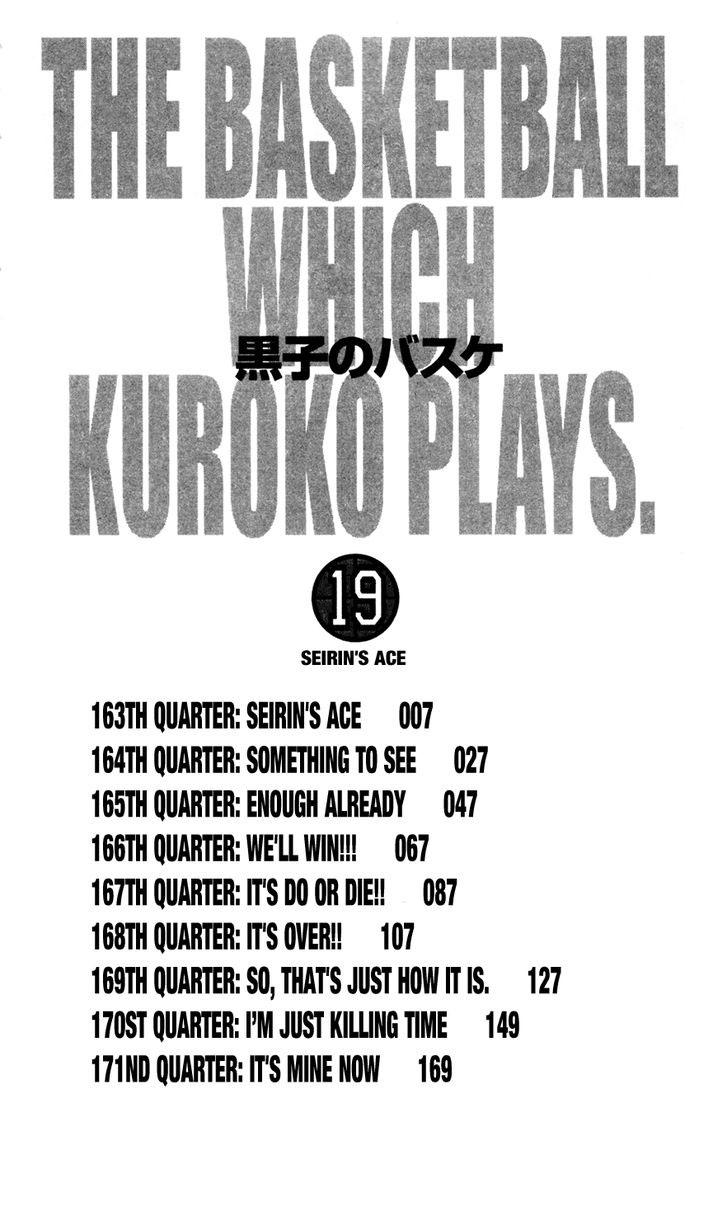 Kuroko No Basket chap 163 trang 4