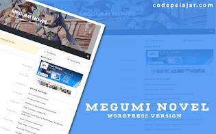 Megumi Novel - Wordpress Themes