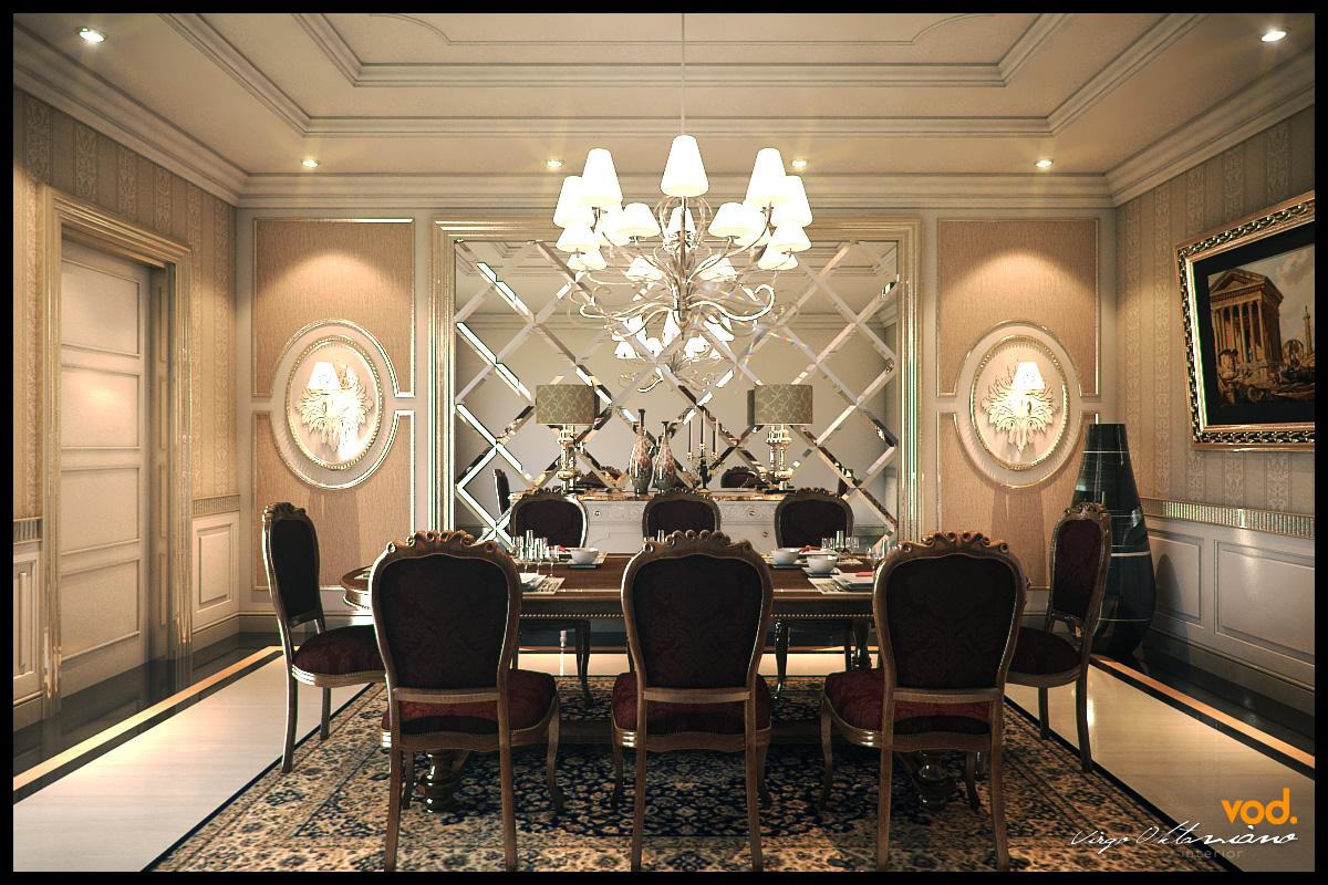 virgooktavianocom Classic Dining Room