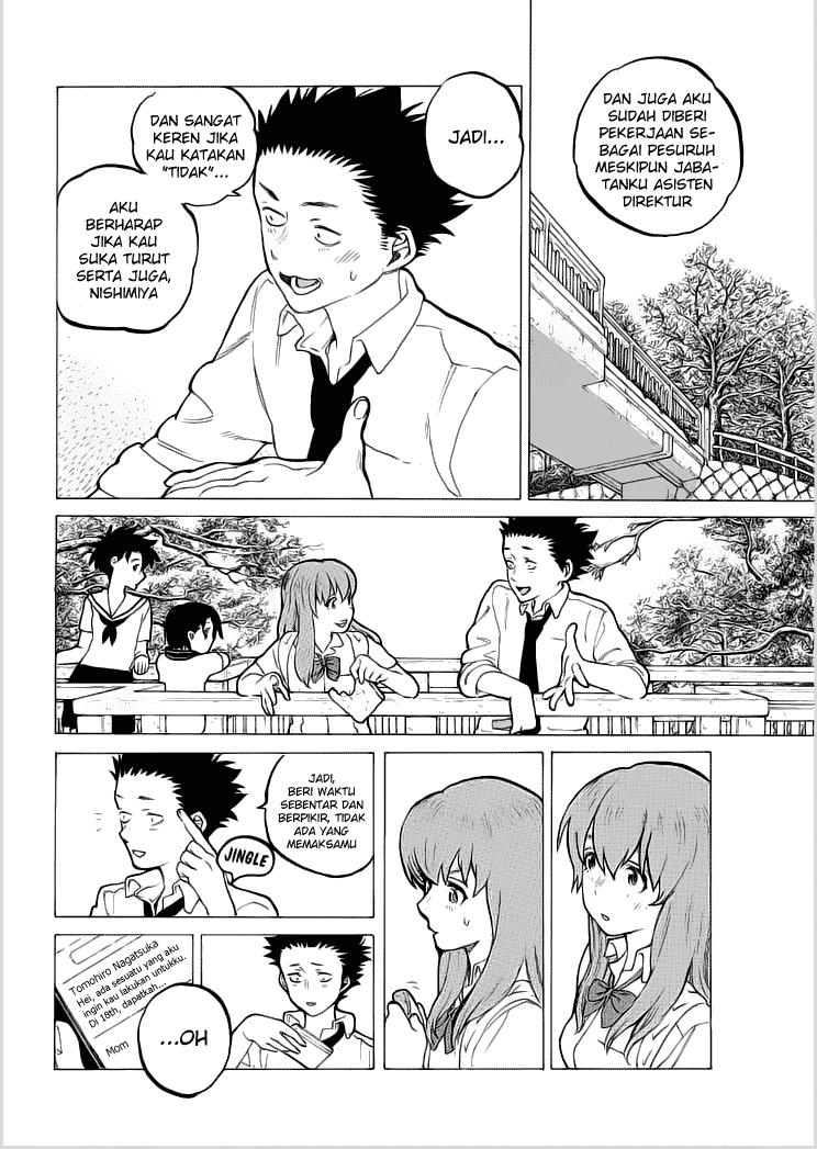 Koe no Katachi Chapter 34-5