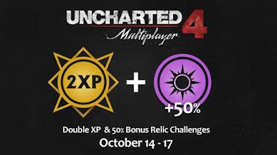 בסוף השבוע הקרוב תוכלו להרוויח XP כפול ב-Uncharted 4