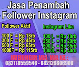 Jasa Penambah Follower Instagram