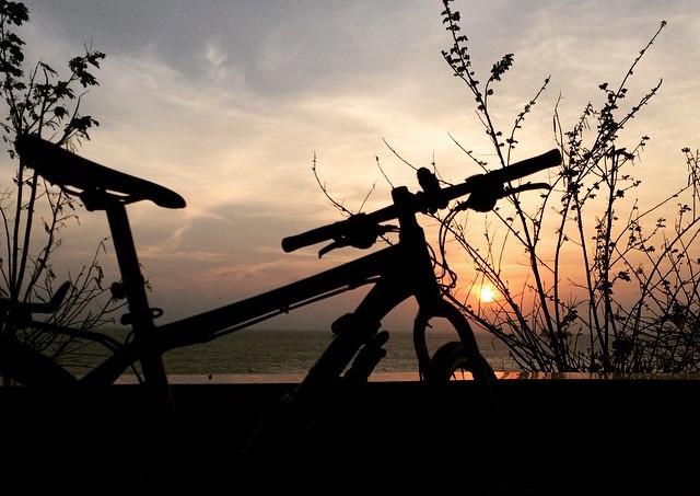 Đạp xe Sài Gòn - Vũng Tàu để test sức khoẻ trước hành trình lớn.