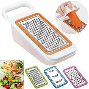 The grater that didn't last