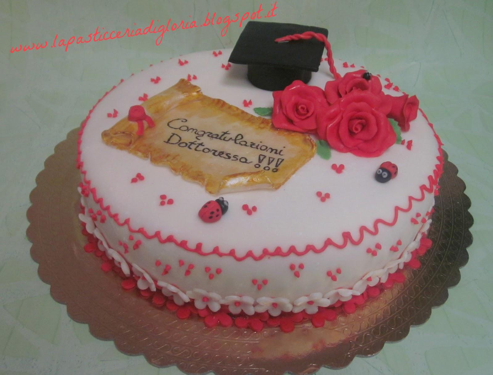 Famoso La pasticceria di Gloria: Torte di laurea QP95