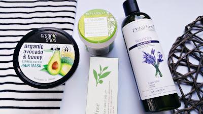Haul zakupowy | Innisfree, Organic Shop, Petal Fresh, Lavea