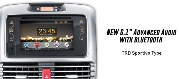 Audio Head Unit Toyota New Rush