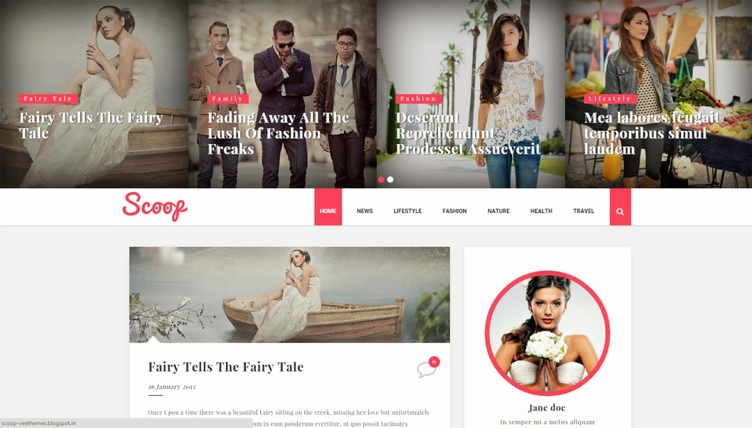 44 Best Free Responsive Blogger Templates EyeObserver - fashion blogger templates
