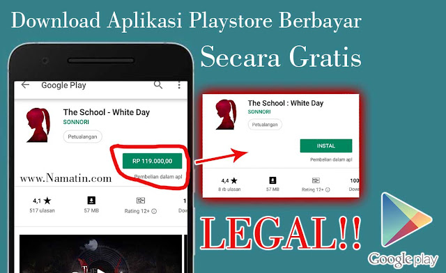 cara download game berbayar jadi gratis di google play
