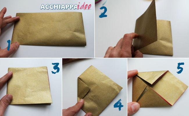 Tutorial1 - sacchetti origami