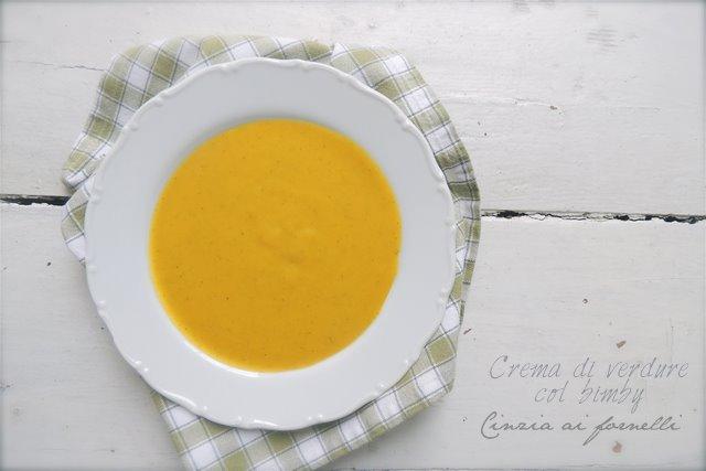 vellutata di verdure ricetta bimby