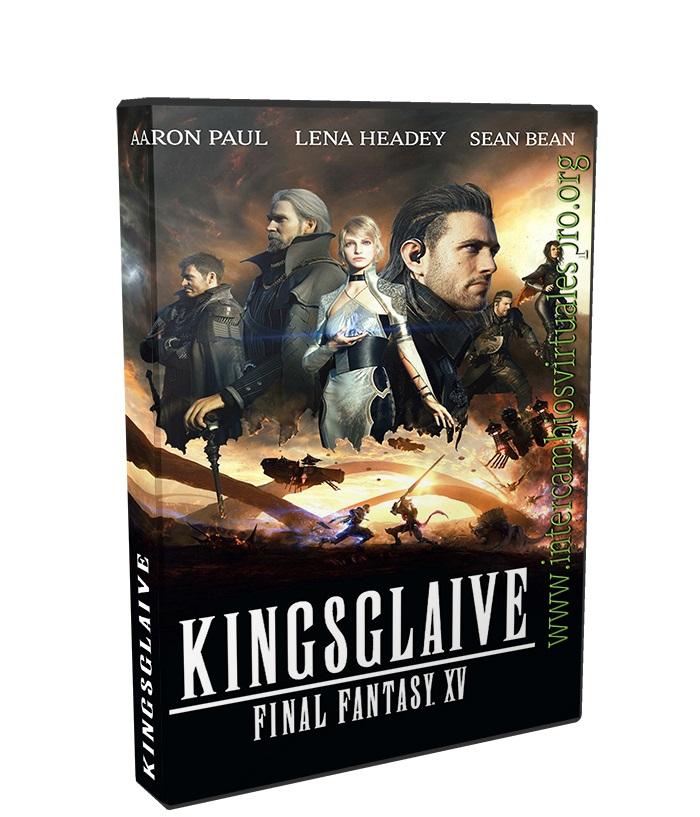 Final Fantasy XV La Película poster box cover