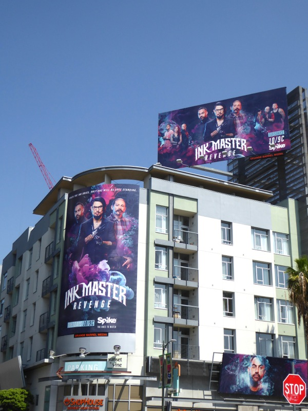 Ink Master Revenge billboards