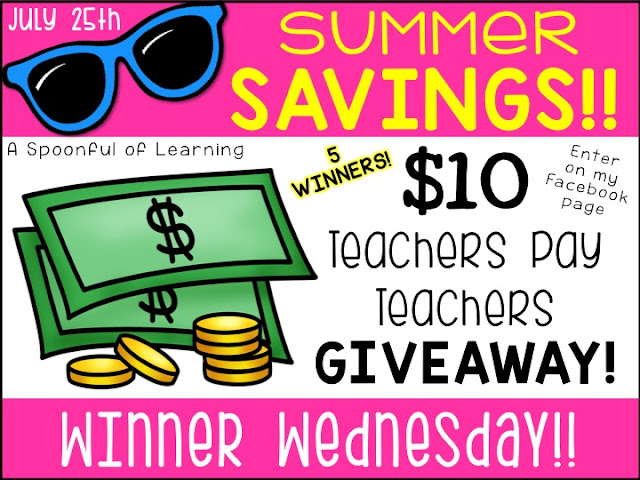 7 Days of Summer Savings 2018 | Winner Wednesday