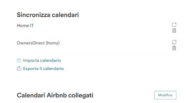 airbnb calendario