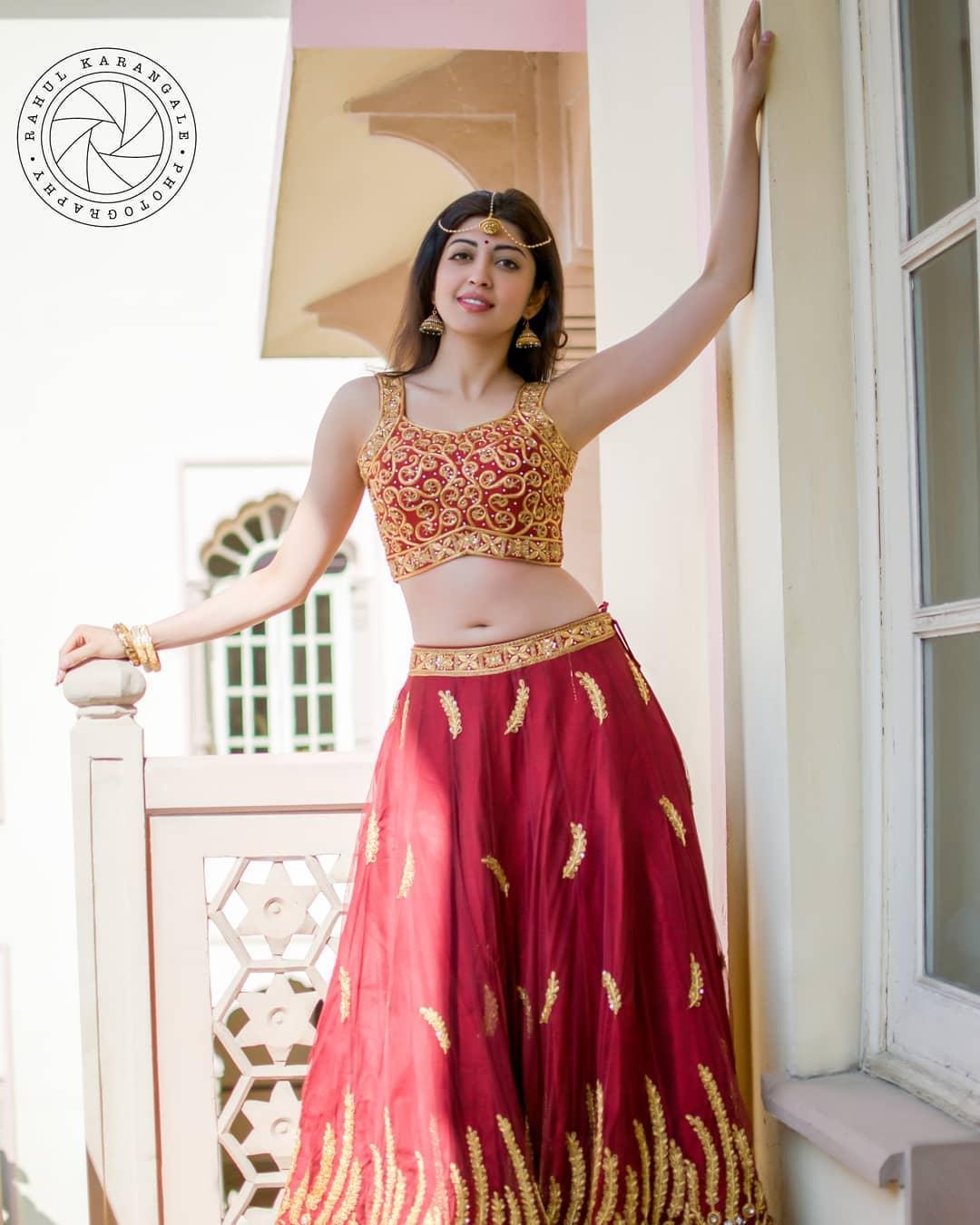 pranitha subhash photos by rahul karangale