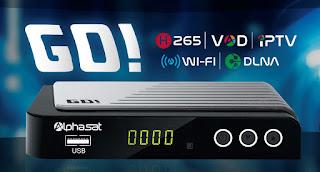 Atualização Alphasat GO V1.1.7 - 21/06/2018