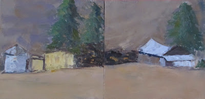 Diptych done at Helen Putnam Park