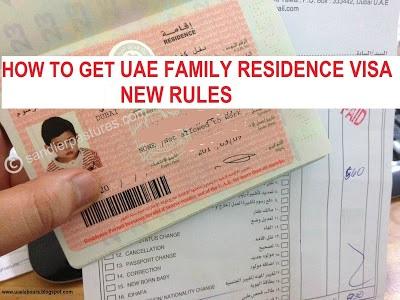 UAE family visa process 2018