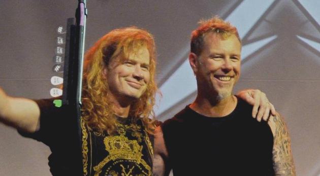 dave mustaine james hetfield