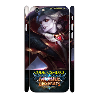 Custome Case 3D Iphone 6 Design Games Mobile Legend 03
