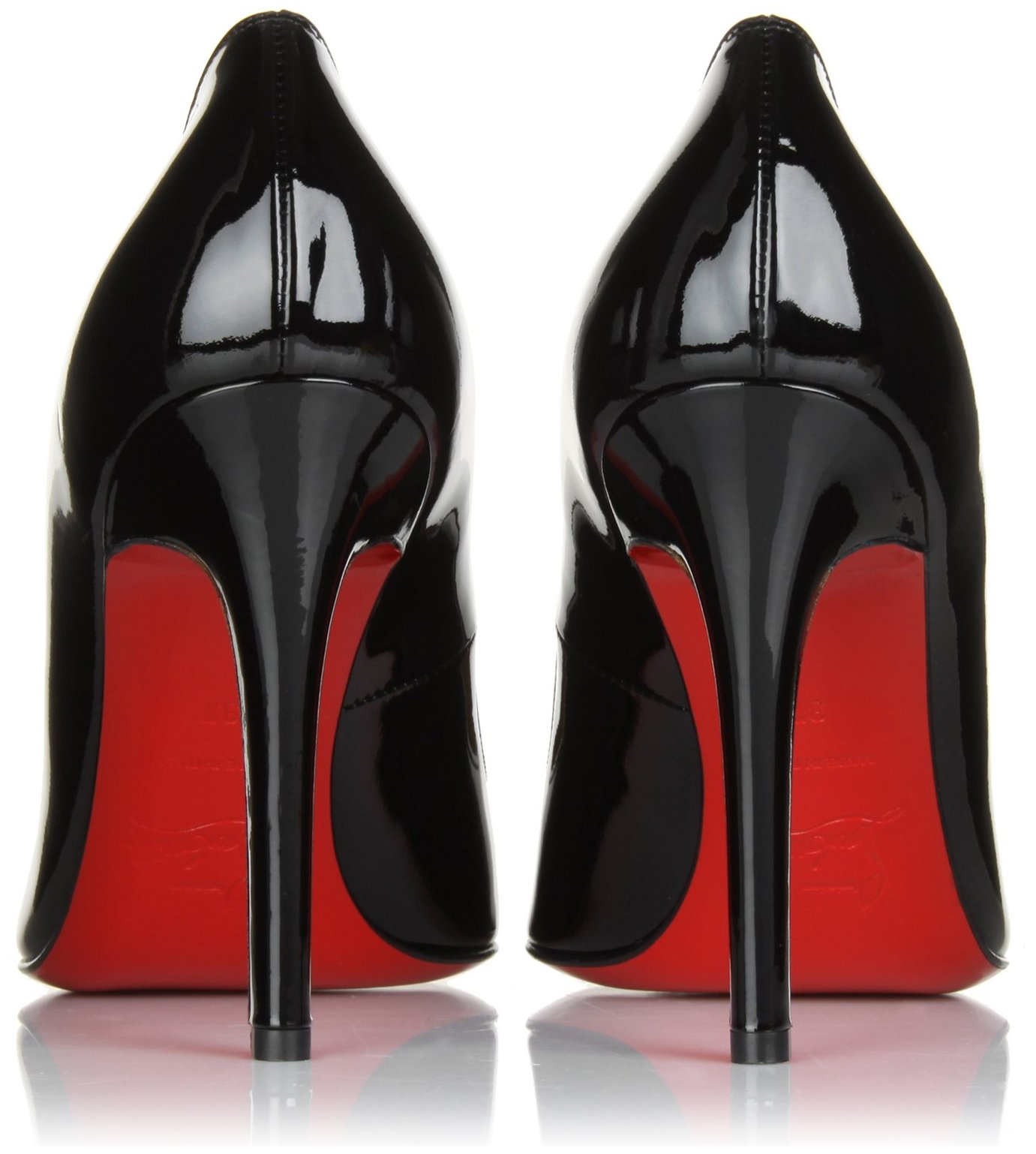 Black Designer Shoes Red Soles