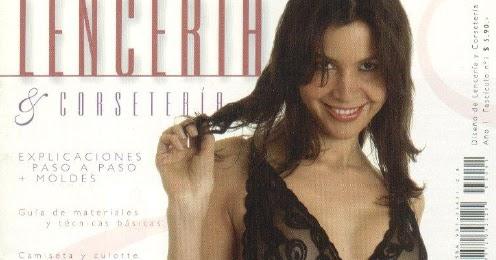 12a9679d0f11 Mujeres y alfileres: Revista Lencería Nº1