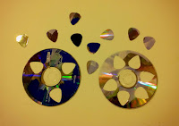 Recycled DVD/CD Art & Jewelry
