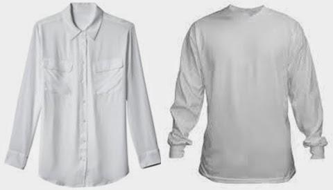 baju kemeja putih wanita gemuk