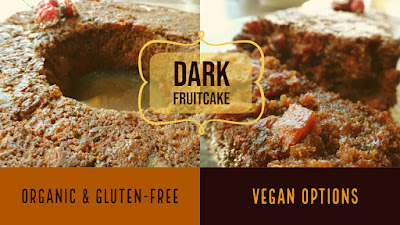 Easy Dark Fruitcake Recipe Gluten-free