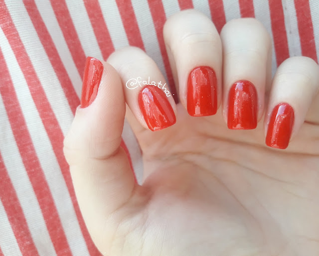 esmalte vermelho Love Color