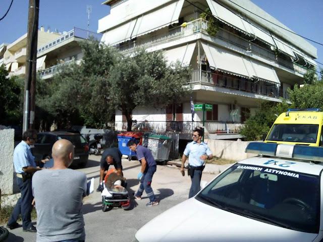 Σοβαρό τροχαίο έγινε  στην Παλλήνη.