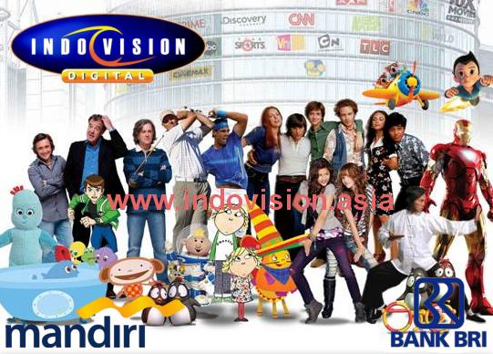 Program promosi Indovision terbaru bersama kartu kredit BRI dan Mandiri.