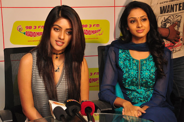 Anu Emmanuel,priyashri at Radio Mirchi Photos
