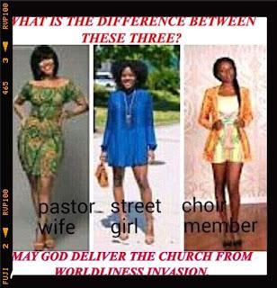 pastor wife in worldliness