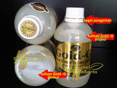Jelly Gamat Gold G Sea Cucumber isi 320ml ( original )