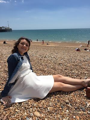 Brighton pebbled beach