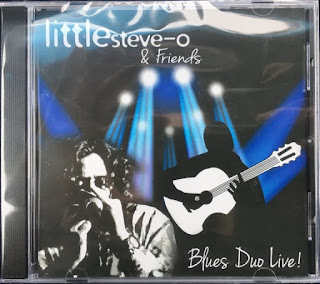 Blues Duo Live CD available at live shows