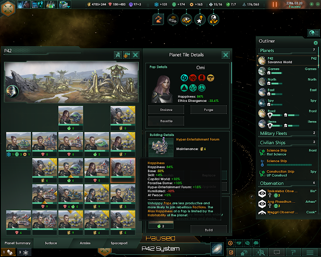 Happiness | Stellaris Screenshot