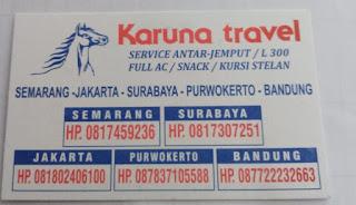 Karuna Travel Semarang Jakarta