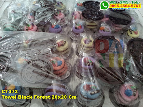 Jual Towel Black Forest 20x20 Cm